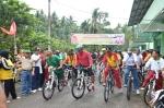 Pembukaan Sepeda Santai di Sei Sariak