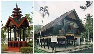 (2) Rumah adat budaya Aceh