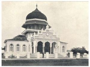 (4) Situs Mesjid Aceh kejayaan St. Iskandar Tsani